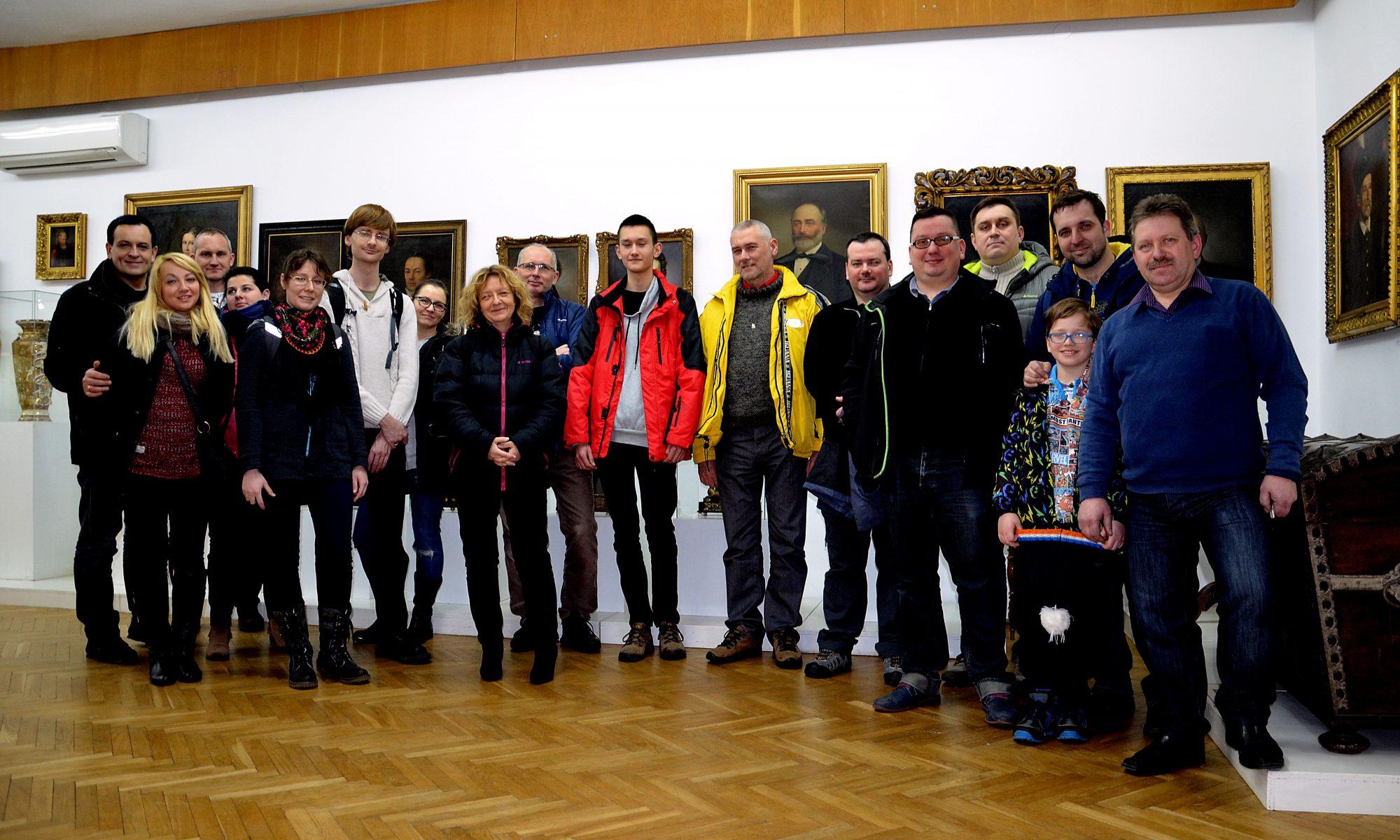 GC JASŁO TEAM w Muzeum Regionalnym w Jaśle.