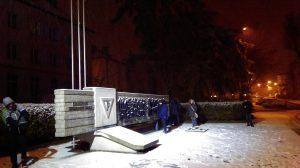 Pomnik I transportu do KL Auschwitz